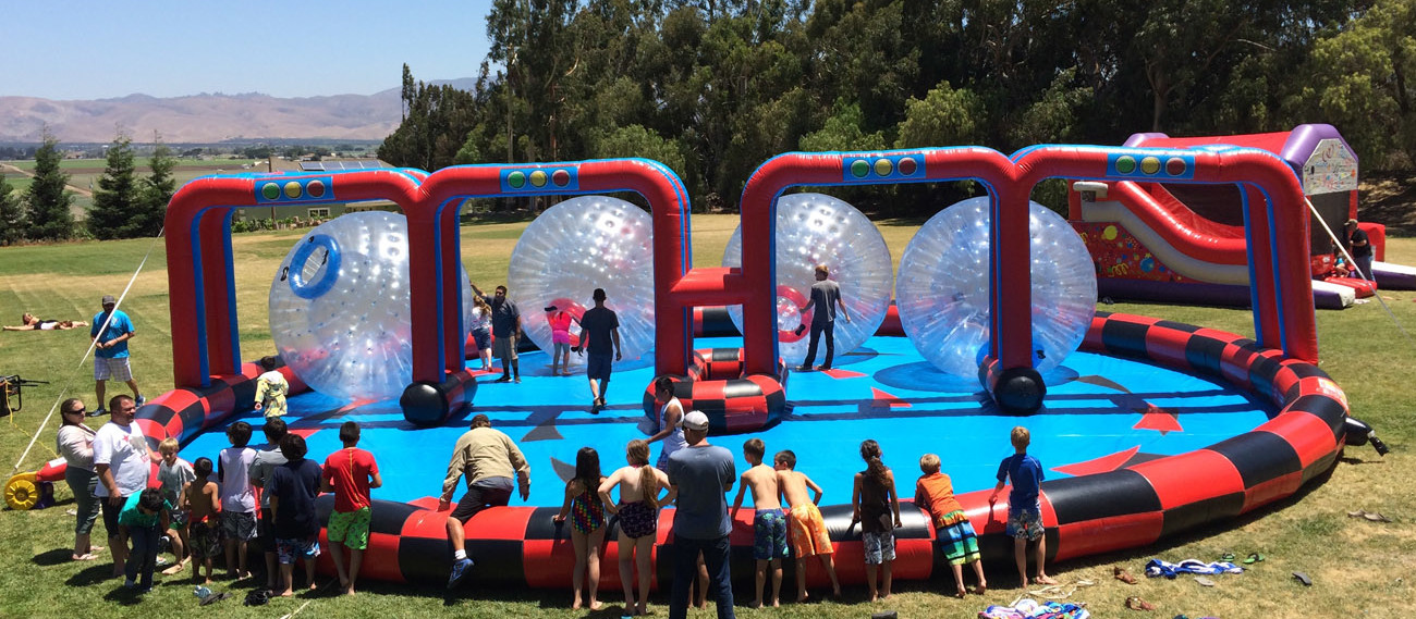 Inflatable Giant Human Hamster Zorb Balls