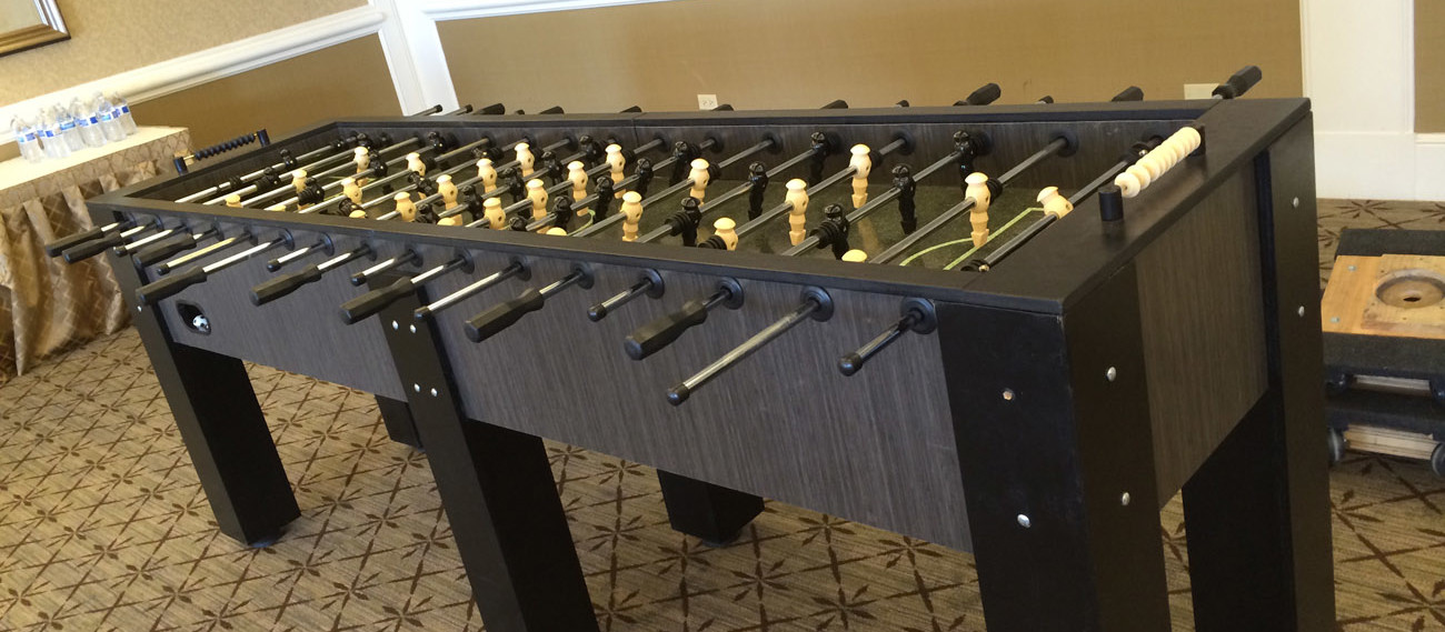 XXL 16 Player Foosball Table