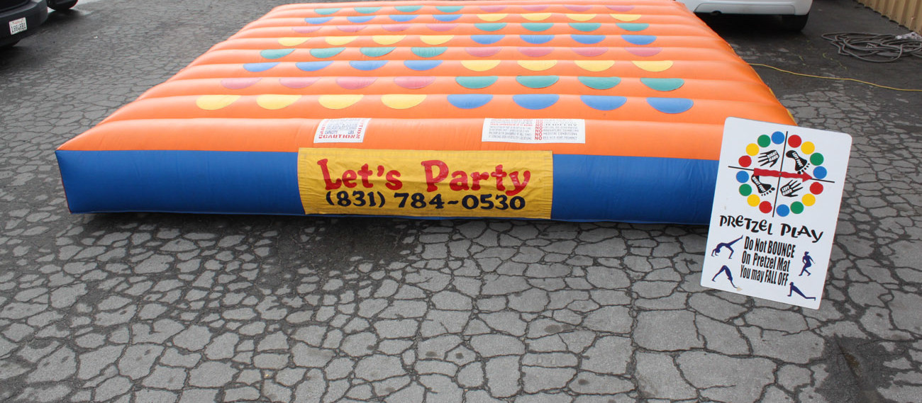 Inflatable Twister Game
