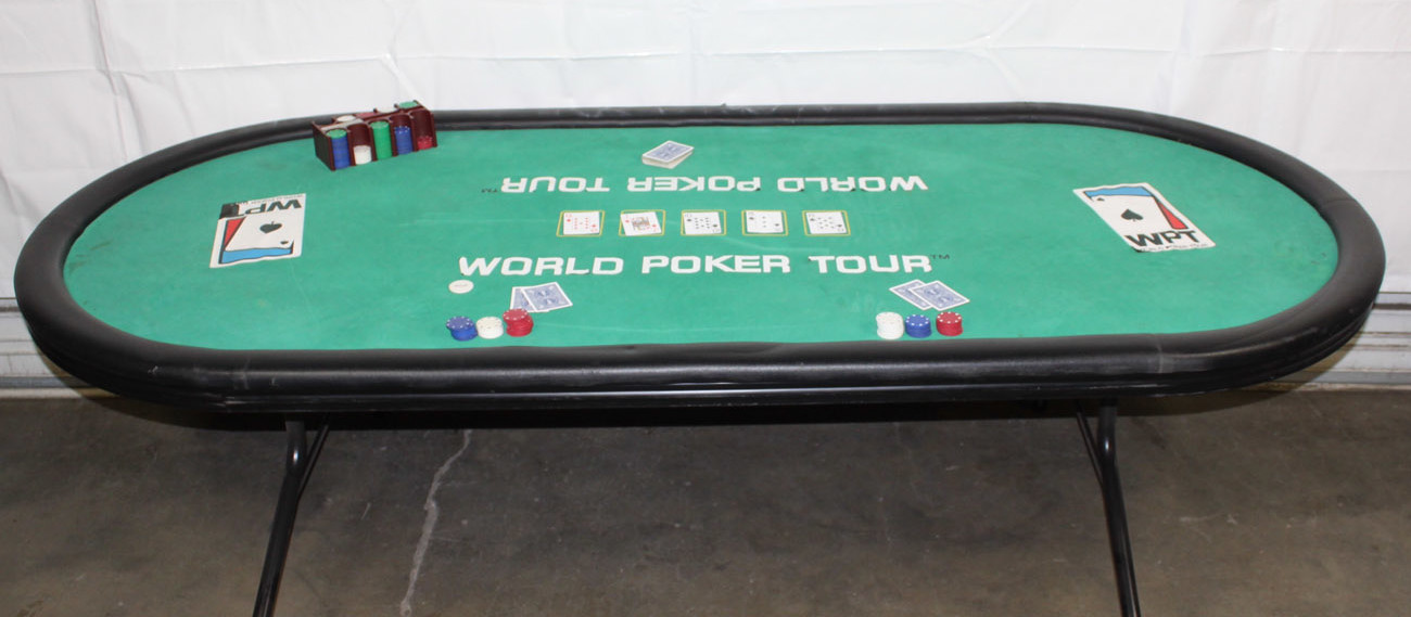 Texas Holdem Casino Table