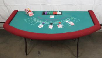Blackjack Casino Table