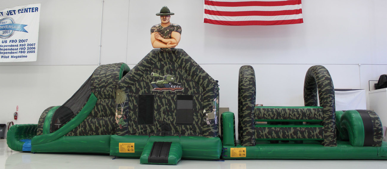 50 ft Drill Sergeant Camouflage Obstacle Course
