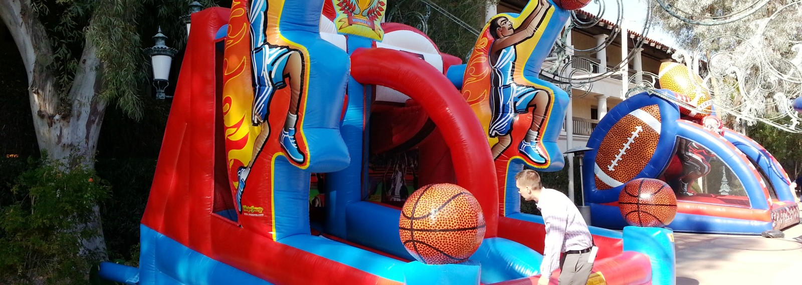 Inflatable Basketball Shooting Stars
