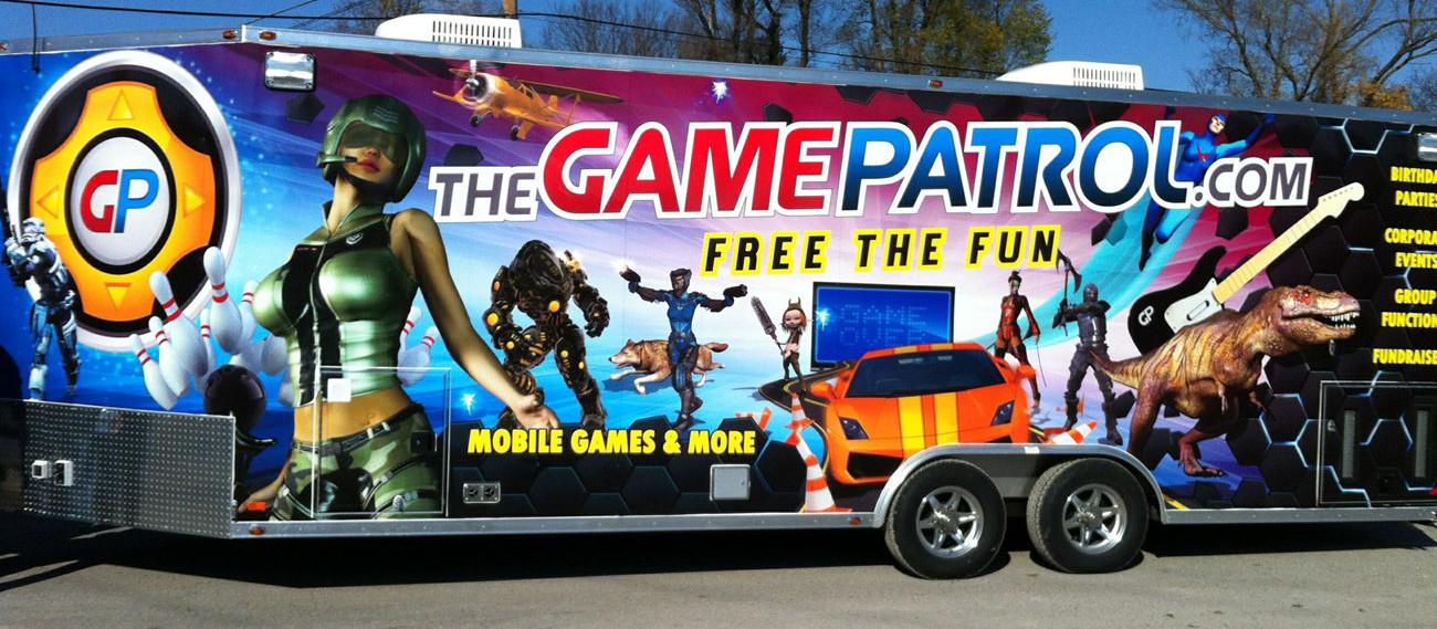 Game Patrol Video Game Trailer