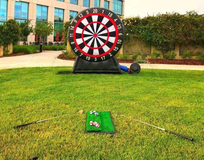 Inflatable Velcro Golf Dart Rental California