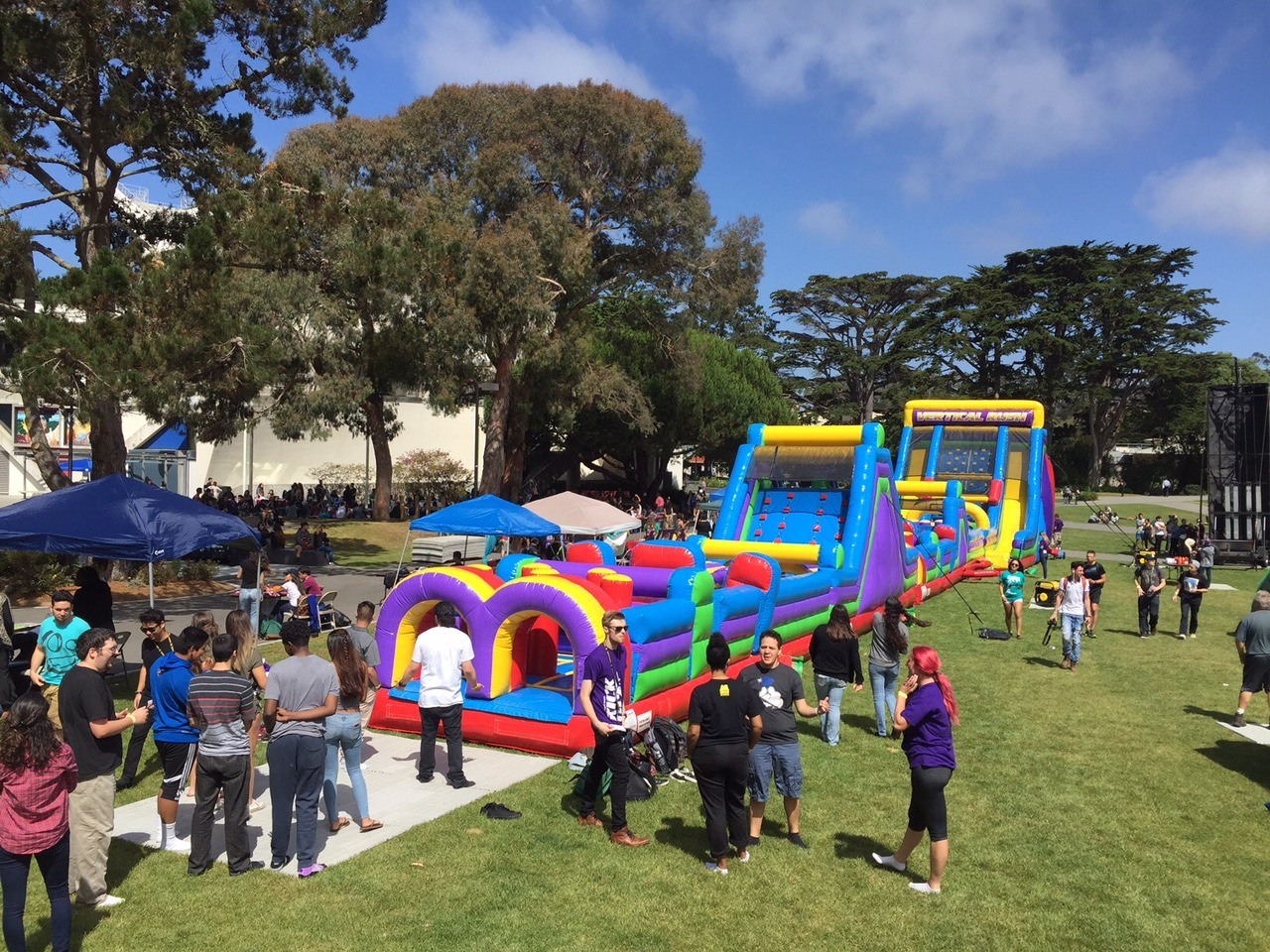 The Beast Obstacle Course Lets Party