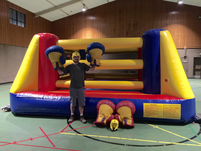 Inflatable Boxing Ring Rental San Jose
