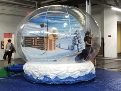 Inflatable Snow Globe Rental San Francisco