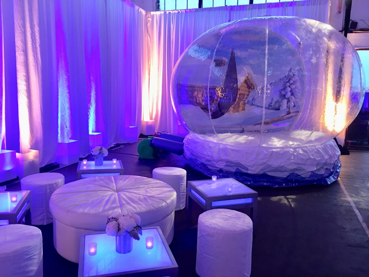 Inflatable Snow Globe Rental