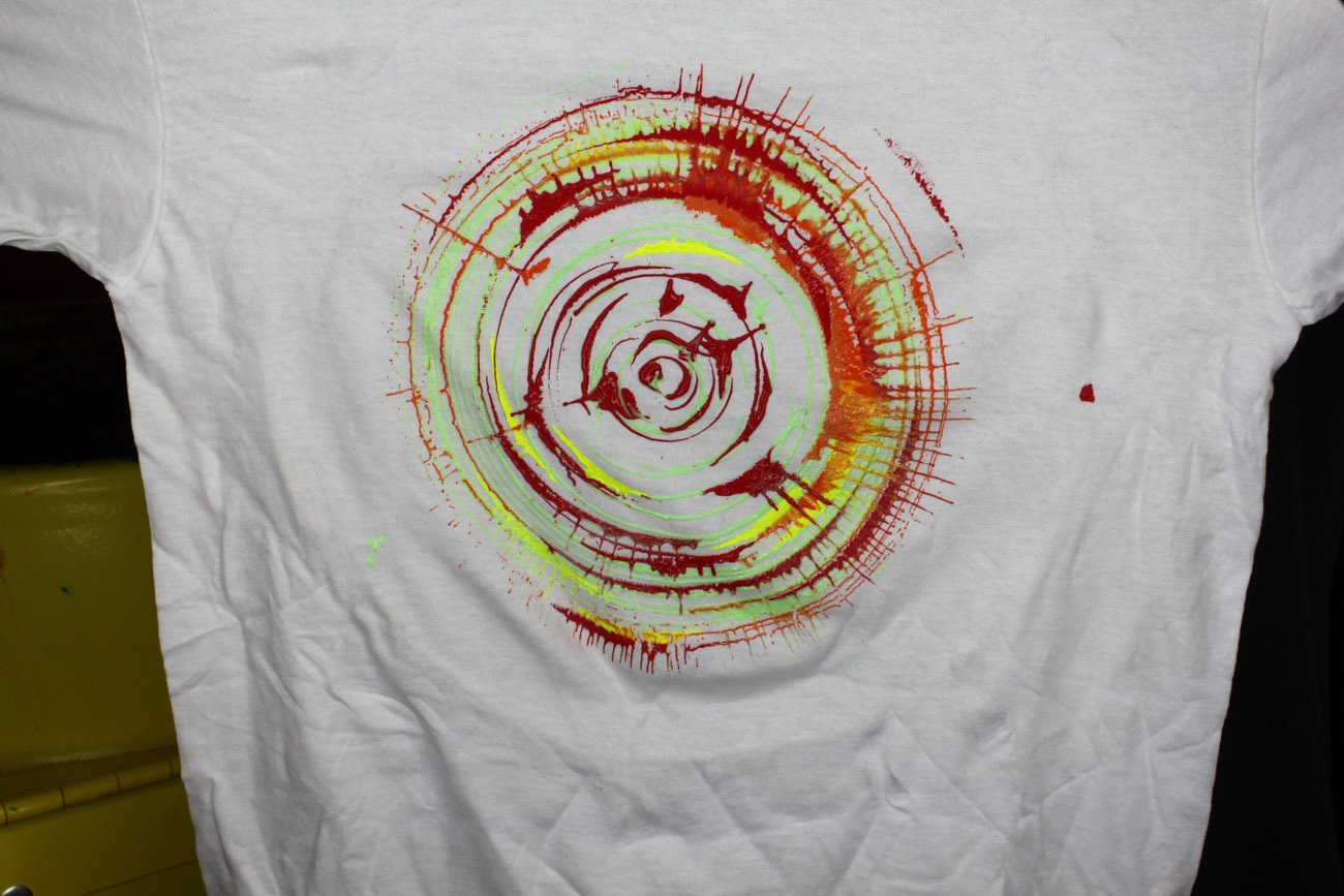 Spin Art Tee Shirts Craft Carnival Game Lets Party