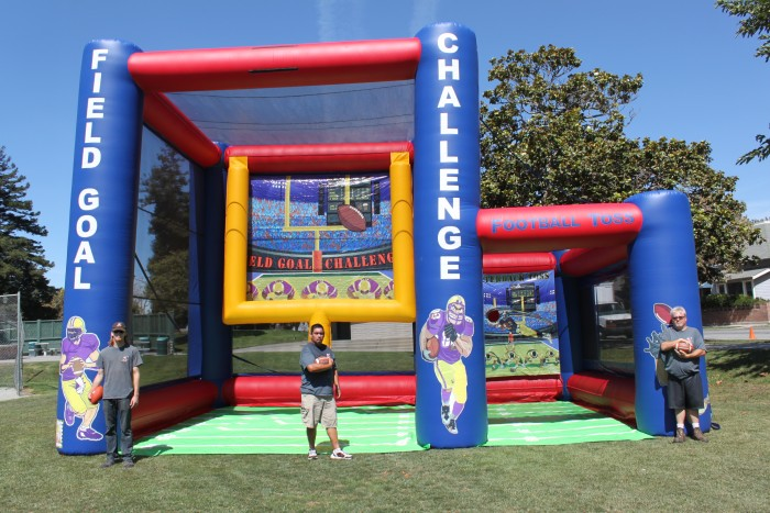 Inflatable Football Combo Game