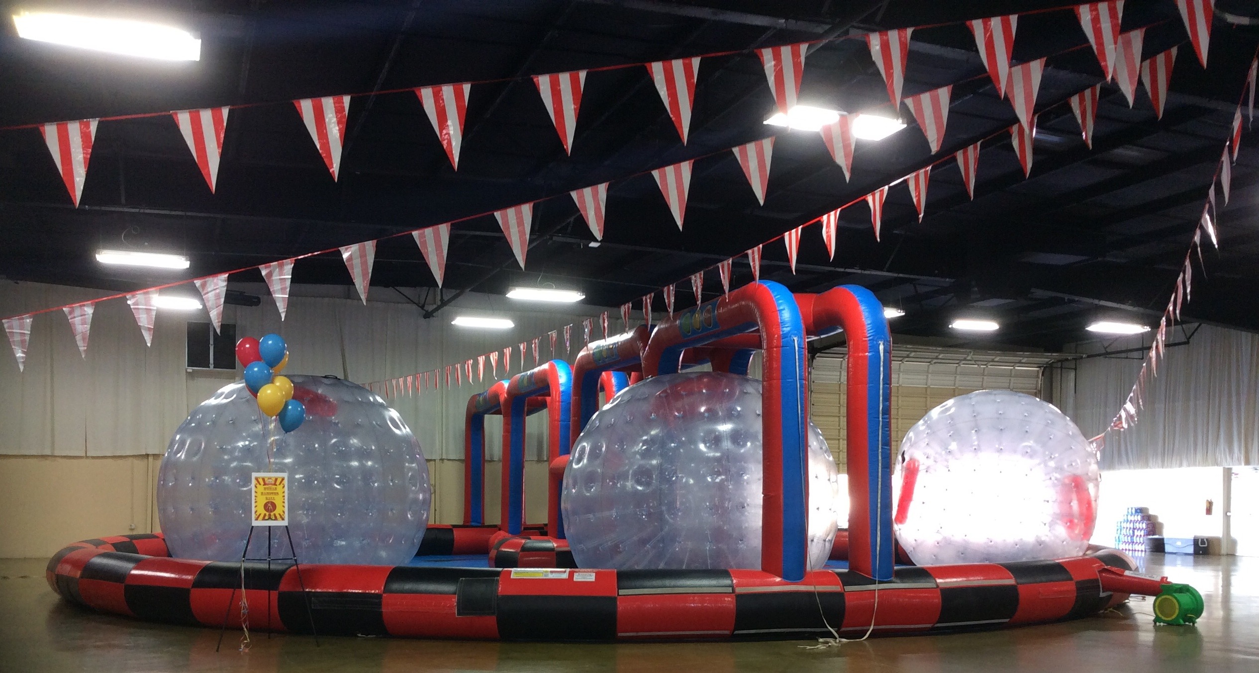 Inflatable Giant Human Hamster Zorb Balls - Lets Party