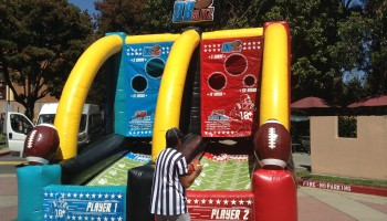 Inflatable Quarterback Blitz