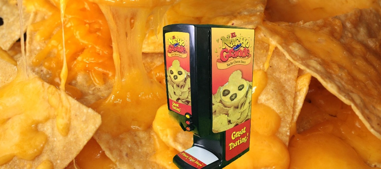 Nacho Machine Cheese Dispenser