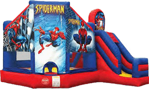 Inflatable Spiderman Jump N Slide