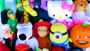 Basic Or Licensed Stuffed Animals (size 7-11 inches)
