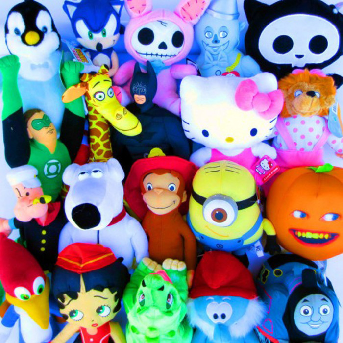 Carnival Prizes Stuffed Animals