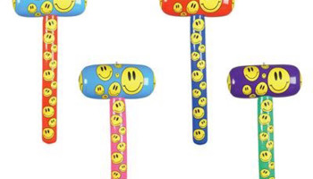 Happy Face Inflatable Mallets