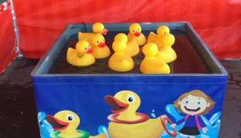Jumbo Ring A Duck Carnival Game