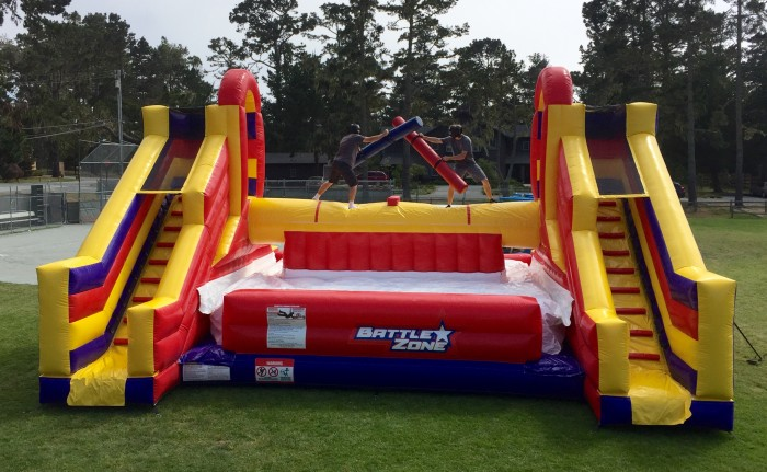 Inflatable Battle Zone Game