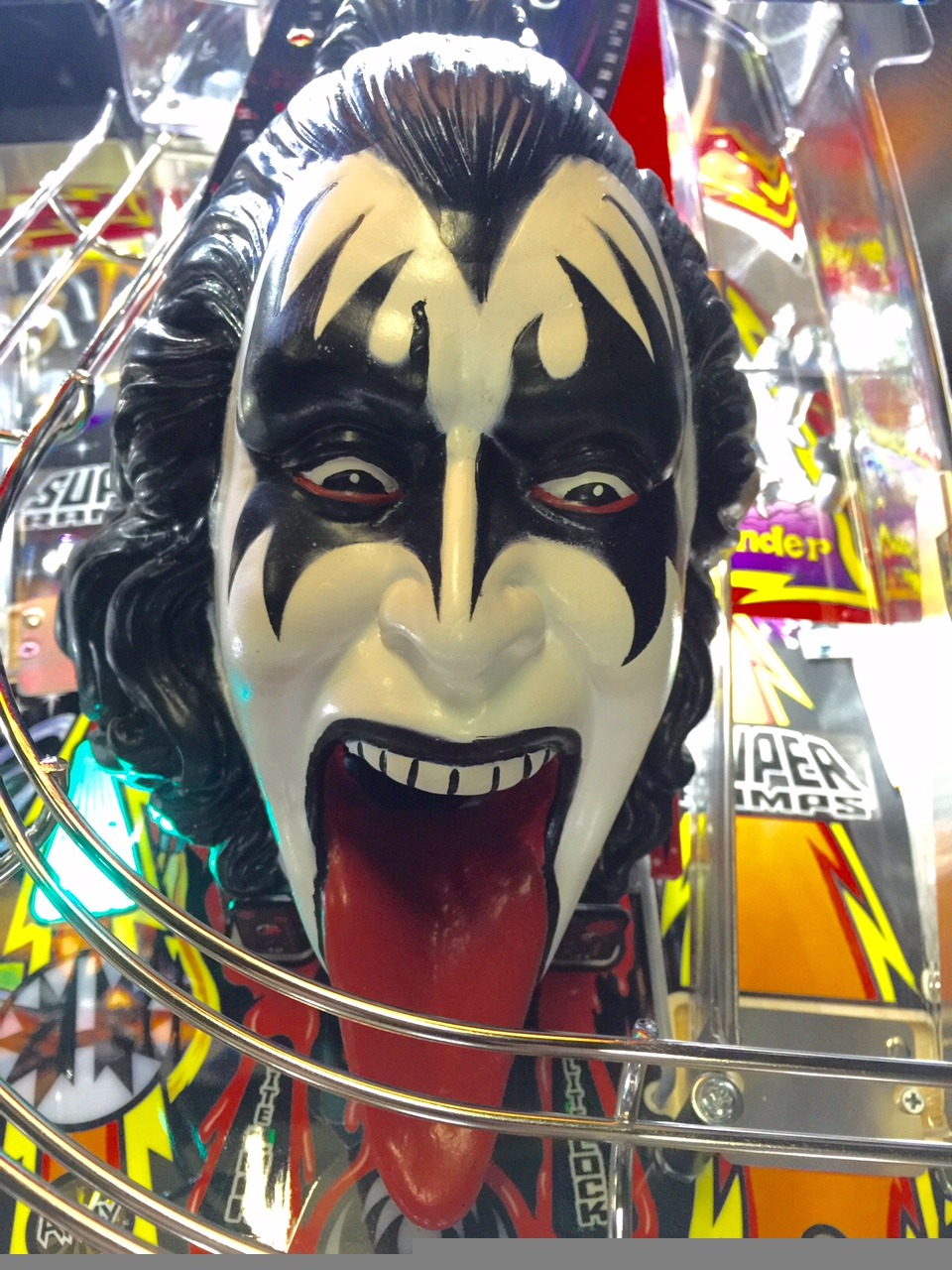 Kiss Pinball Machine