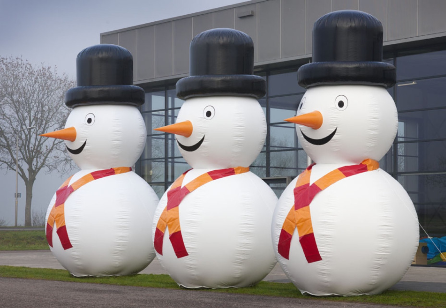 Inflatable Snowman - Lets Party