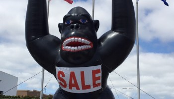 Inflatable Gorilla