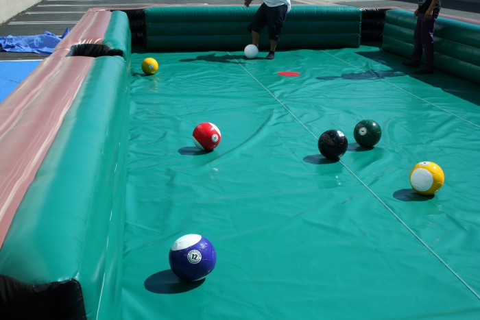Inflatable Pool Table Rental