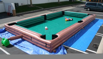 Inflatable Pool Table Lets Party