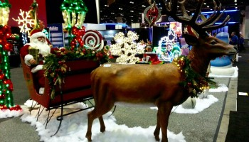 Reindeer Holiday Prop
