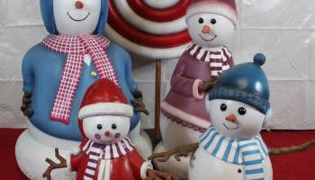 Snowman Holiday Prop