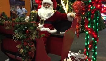 Santa Sleigh Prop