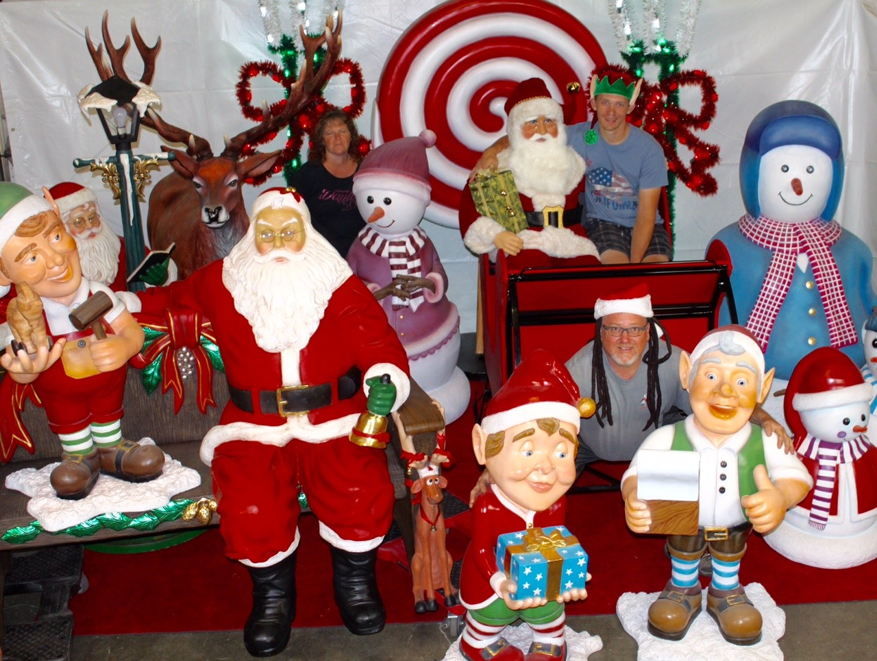 Christmas Holiday Props rental San Francisco Bay Area California