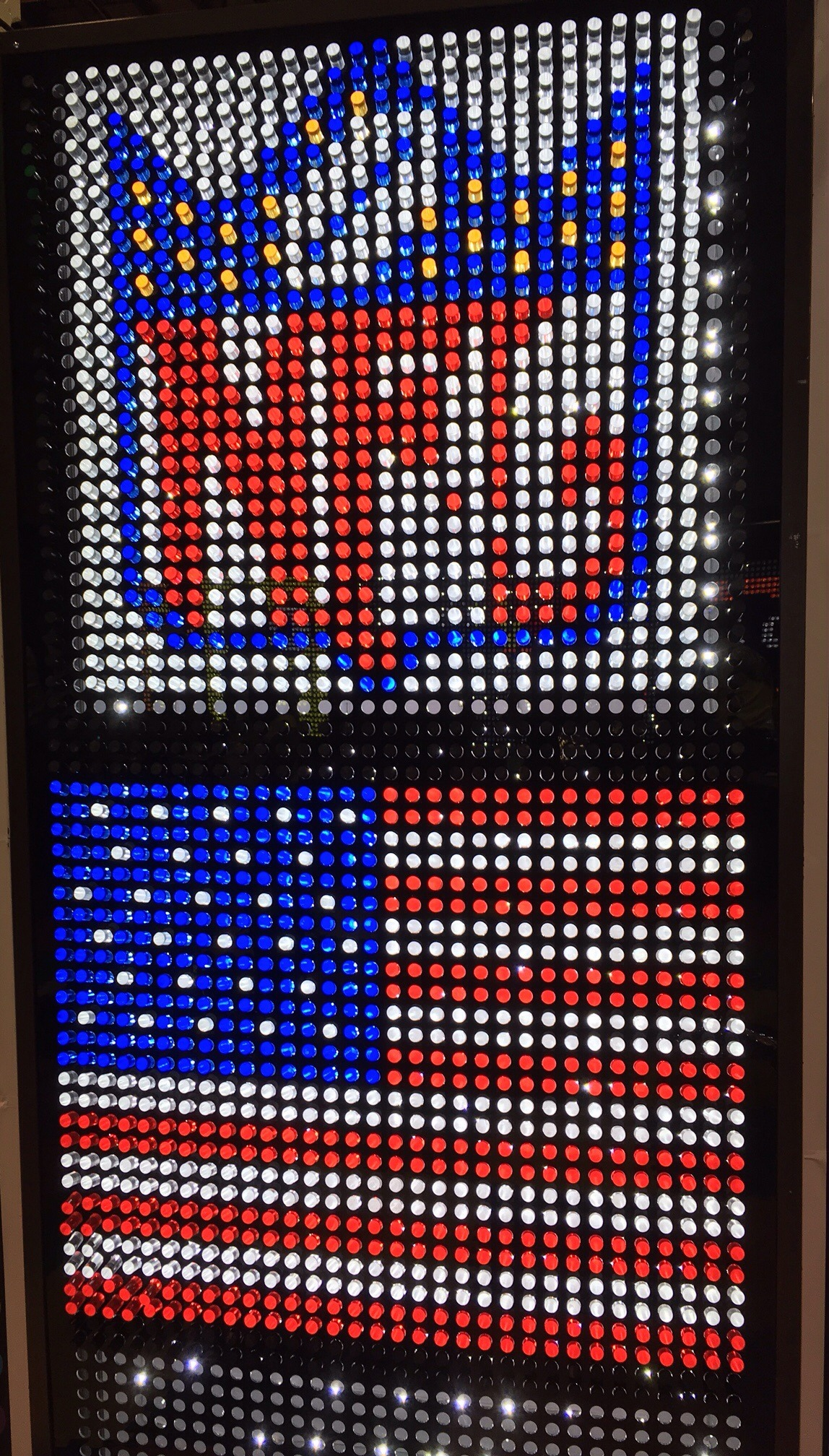 Giant Lite Brite Game