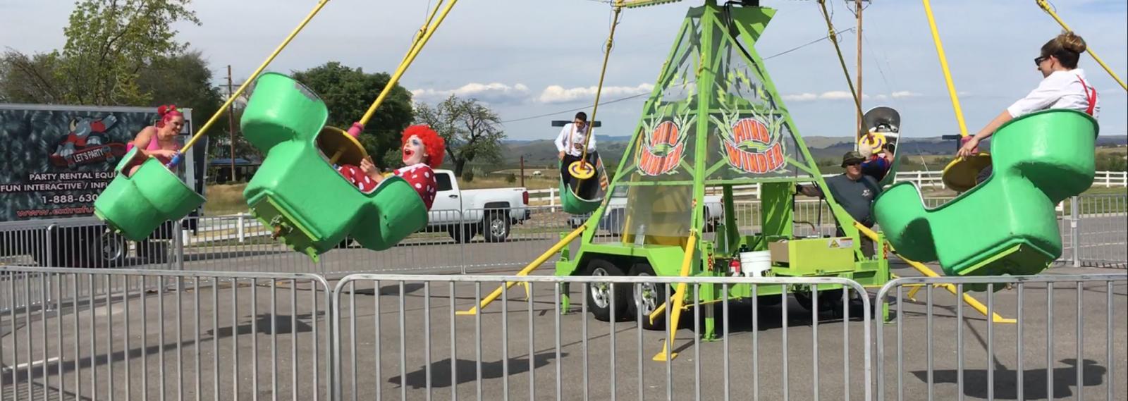 Mindwinder Carnival Spinning Ride