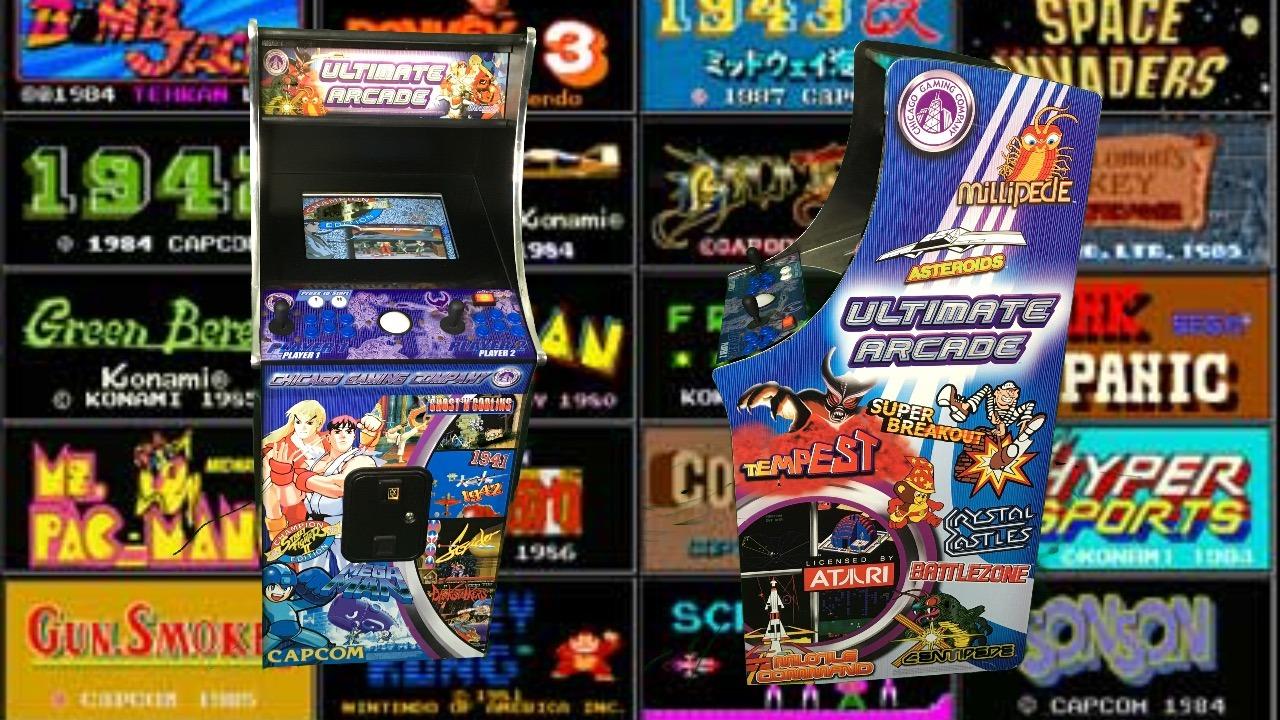 Old School Arcade Games Online