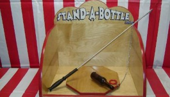 Stand Up Bottle Carnival Game