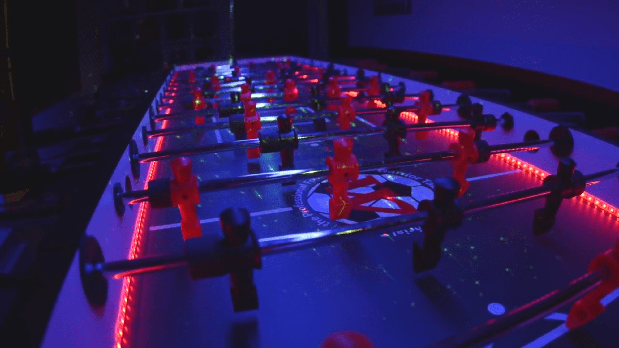 GIANT LED FOOSBALL TABLE RENTAL Lets Party - Foosball table light