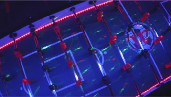 GIANT LED FOOSBALL TABLE RENTAL