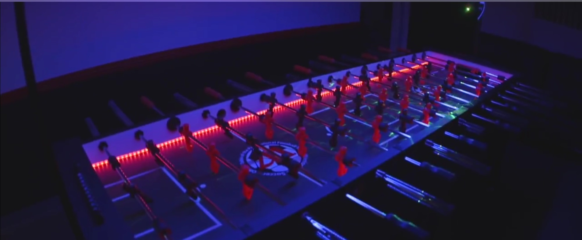 LED FOOSBALL TABLE RENTAL Lets Party - Foosball table light