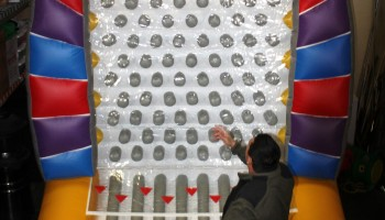 Inflatable Plinko Game Rental