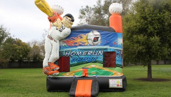 Baseball Home Run Jump House