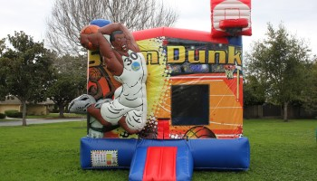 Basketball Slam Dunk Bounce House