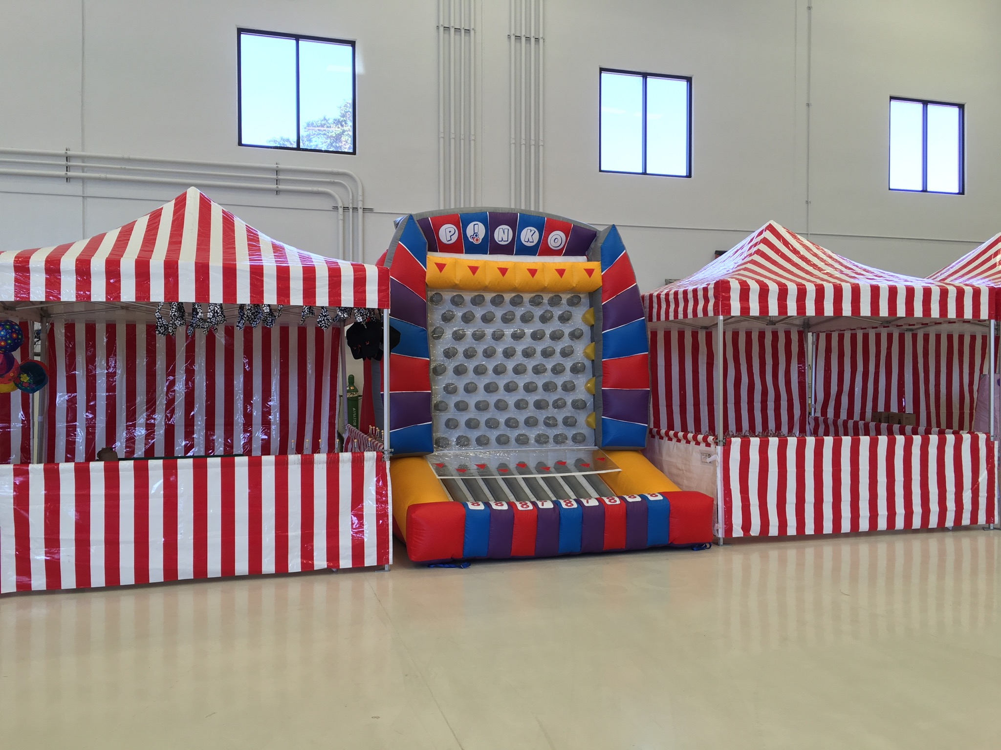 Inflatable Plinko Game Rental - Lets Party