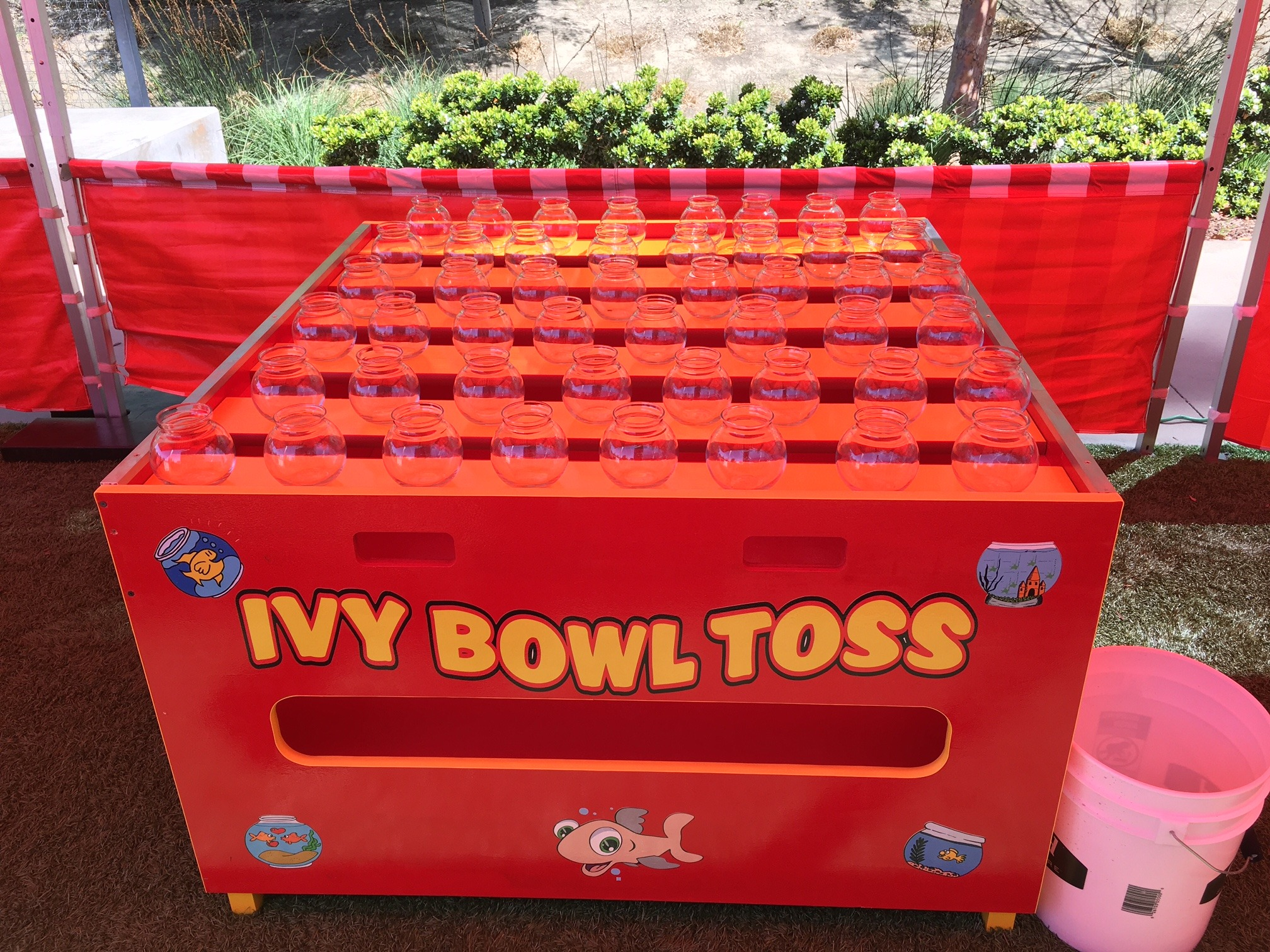 Giant Ping Pong Toss Carnival Game Lets Party