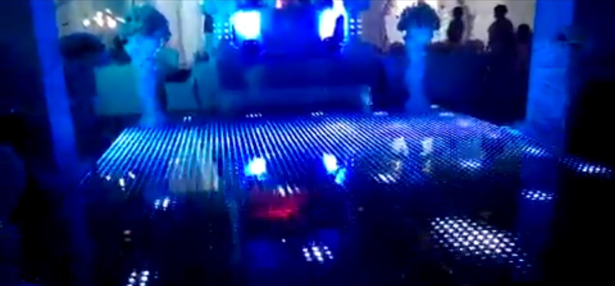 Lighted Led Dance Floor Rental