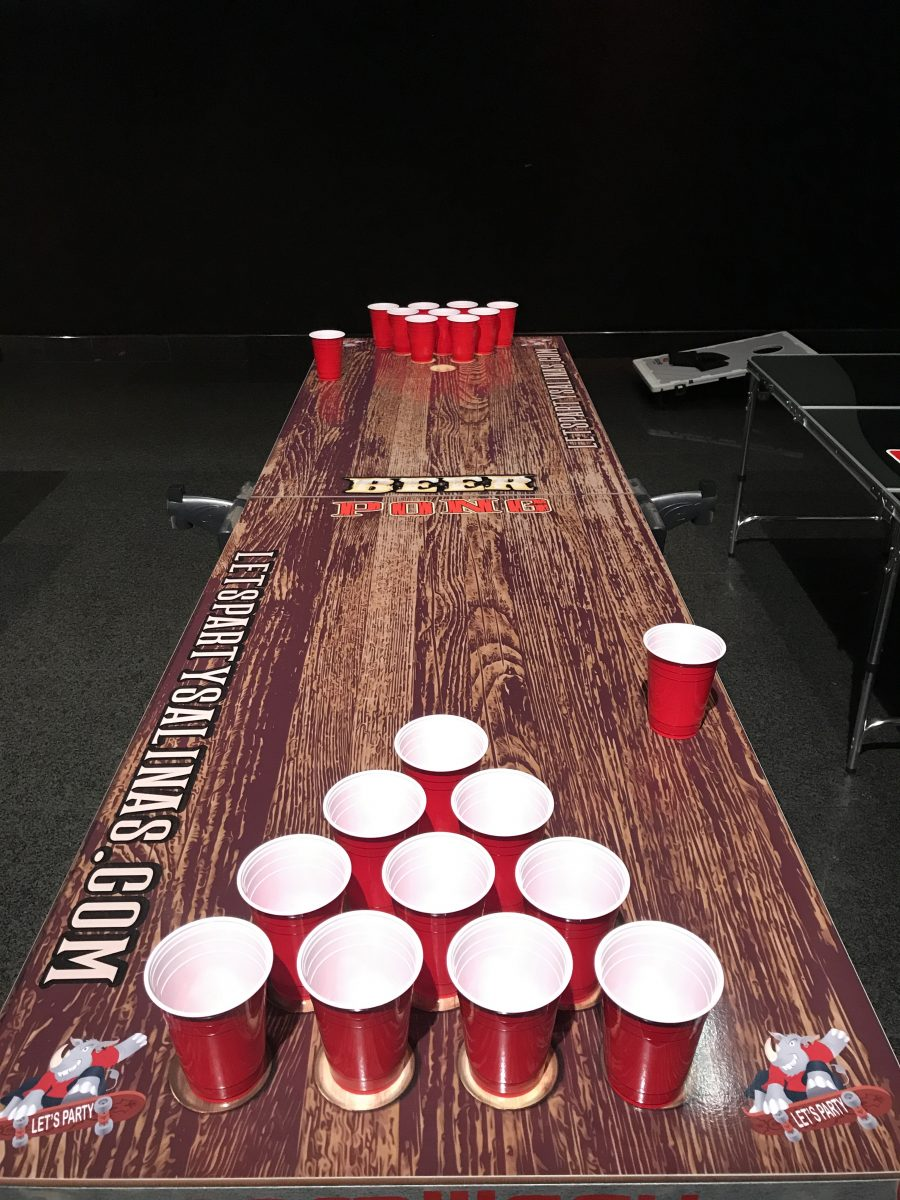 Beer Pong Table Rental Game Lets Party