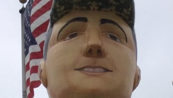 25 Foot Military Man Inflatable