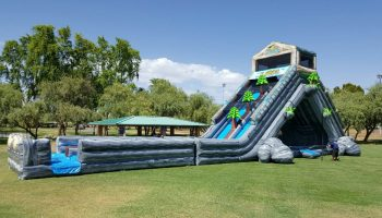 35 Foot Avalanche Inflatable Slide