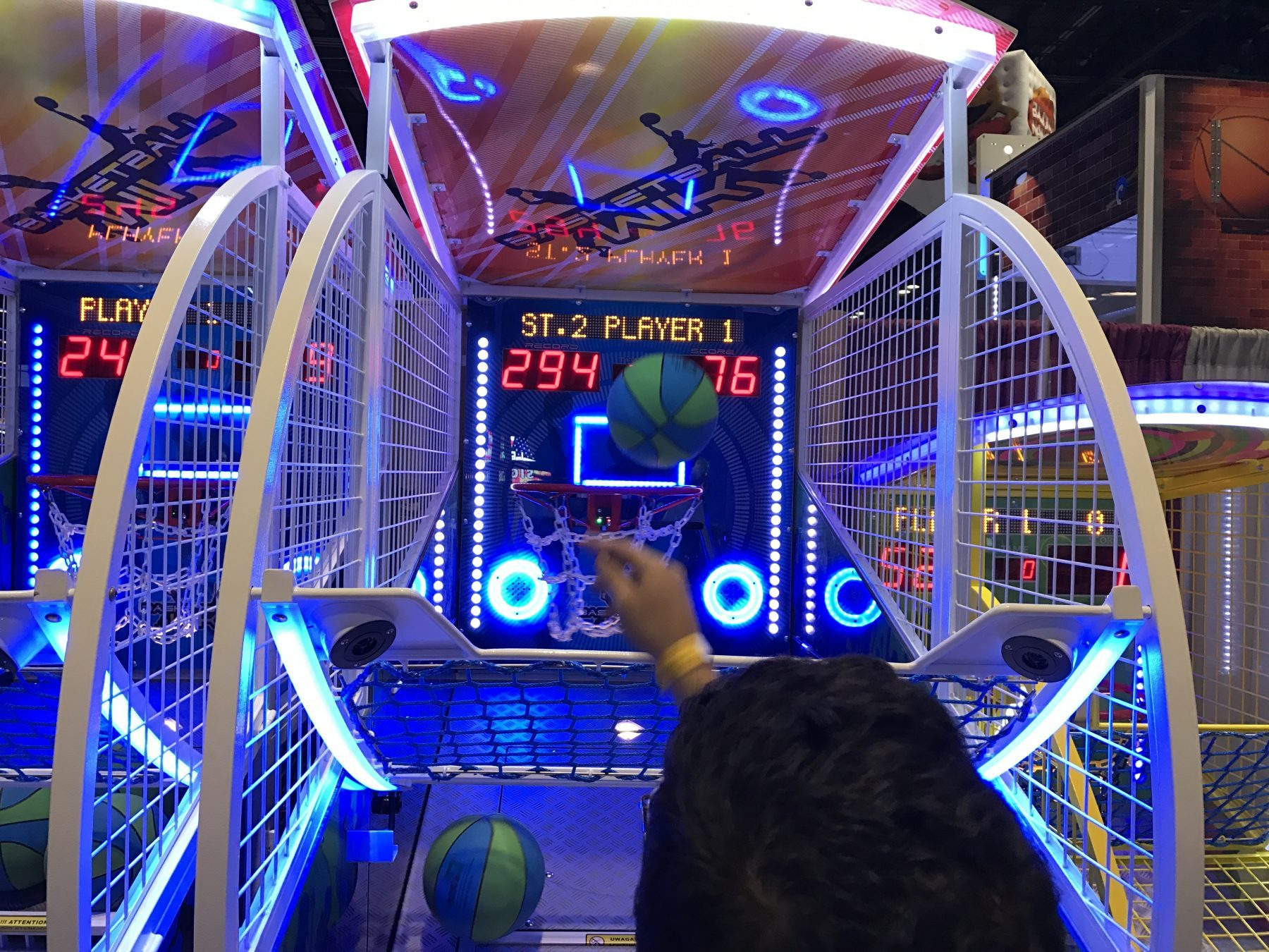 Basketball Arcade Game Sports Rentals Lets Party